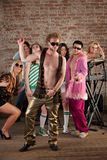 1970s Disco Music Party stock images