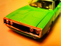 1970s Dodge Charger Royalty Free Stock Images