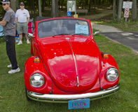 1971年Volkswagon超级甲虫 免版税库存照片