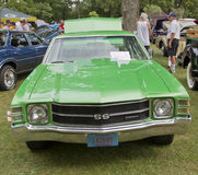 1971 Chevy Chevelle SS front view Stock Photos