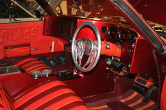 1971 Cutlass Interior Royalty Free Stock Photo