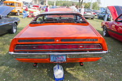 1971 Ford Torino Rear View Royalty Free Stock Photos
