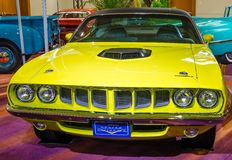 1971 Plymouth Cuda   Royalty Free Stock Photo
