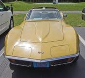 1972 het vooraanzicht van de Pijlstaartrog van het Korvet Chevrolet Stock Afbeelding