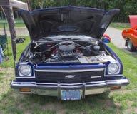 1973年Chevy El Camino引擎 免版税库存图片