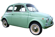 1973 Fiat 500F Bambino Royalty Free Stock Image