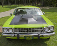 1973 Plymouth Satellite Front Stock Photography