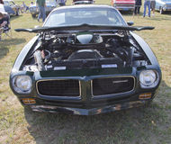 1973 Pontiac Trans Am Firebird Front View Royalty Free Stock Image