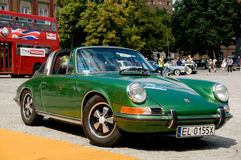 1973 Porsche 911T Targa Stock Photography