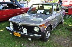 1974 BMW 2002古董车 图库摄影