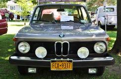 1974 BMW 2002古董车 免版税库存照片