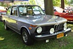 1974 BMW 2002年轿车 库存照片