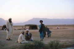 1975年 下午 阿富汗游牧人 库存照片