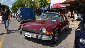 1975 AMC Pacer At Rolling Sculpture Show 2013 Royalty Free Stock Images
