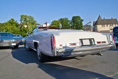 1976年卡迪拉克汽车convertibl黄金国会议 库存照片