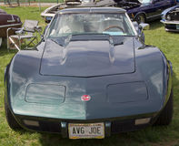 1976 Corvette Stingray front view Stock Photos