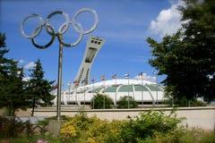 1976 Jogos Olímpicos do verão em Montreal fotografia de stock