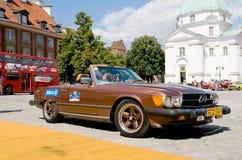 1978 de Hardtop van Mercedes W107 450 SL Royalty-vrije Stock Fotografie