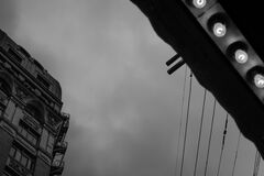 198 there are four lights-0001-vancouver-gastown-xe2-zeiss35-2-20151102-DSCF7873-Edit.jpg Royalty Free Stock Photography