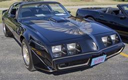 1980年Pontiac Firebird Trans上午 免版税库存图片