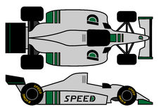 1980 formula car Stock Photo