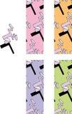 1980 pattern seamless style Διανυσματική απεικόνιση