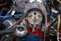 1980 röda motor för Ford Mustang BDS Racing Arkivbilder