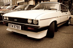 1980's Ford Capri 2.8 injection Stock Images