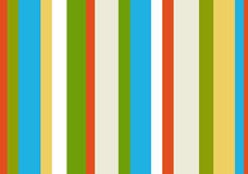 1980s striped pattern. Spring colors 1980s striped pattern royalty free illustration