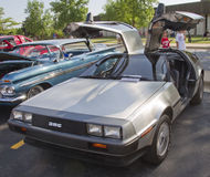 1981 DMC-12 DeLorean Stockfotos