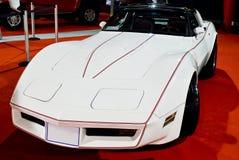1982年Chevrolet Corvette小轿车英里/小时鲨鱼 免版税库存照片