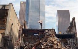 1988 Vernieling de Van de binnenstad van Los Angeles Royalty-vrije Stock Afbeeldingen