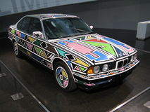 1991 BMW art car Royalty Free Stock Photography