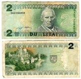 1993年立陶宛lits二 免版税图库摄影