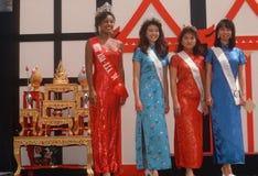 1994年小姐的决赛选手亚洲美国 库存照片