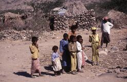 1996-Yemen people Royalty Free Stock Image