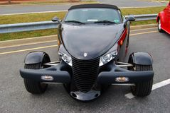 1998 Black Convertible Plymouth Prowler Royalty Free Stock Photo