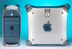 1999 2004年Apple计算机g4橡皮防水布次幂 免版税库存照片