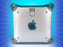 1999 2004年Apple计算机g4橡皮防水布次幂 免版税图库摄影