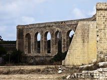 19th Århundrade Aquaduct Arkivbilder