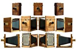 19th изолированное столетие камеры Стоковое Фото
