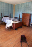 19th-Century Bedroom Royalty Free Stock Image