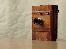 19th century camera Stock Images