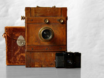 19th century camera and compact Stock Images