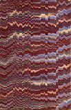 19th century marbled paper Royalty Free Stock Photos