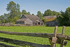 19th Century Old Farm Royalty Free Stock Images