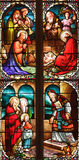 19th century stained glass Stock Photos