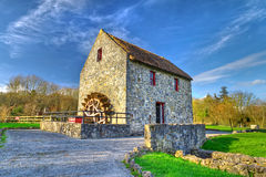 19th century watermill. In Co. Clare, Ireland Stock Photography