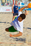 19th match för liga för strandcadiz handboll Arkivbilder