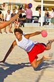 19th match för liga för strandcadiz handboll Royaltyfri Fotografi